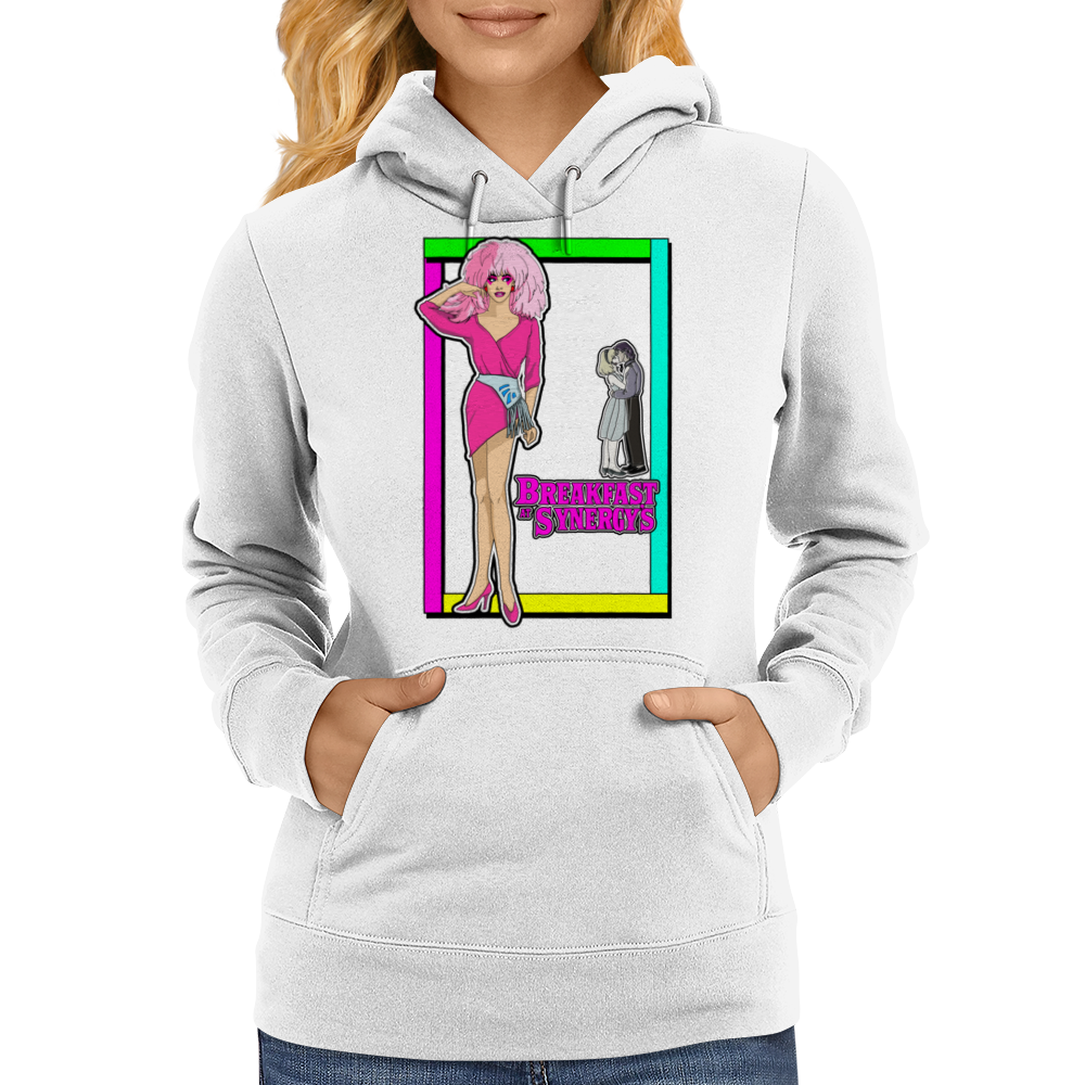 Breakfast at Synergy's Womens Hoodie