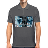 BREAKING BAD - AMC - HEISENBERG - HIDING IN PLAIN SIGHT - WALTER WHITE  - BLUE Mens Polo
