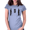 BREAKING BAD - AMC - HEISENBERG - HIDING IN PLAIN SIGHT - WALTER WHITE - SILHOETTE Womens Fitted T-Shirt
