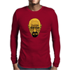 BREAKING BAD - AMC - HEISENBERG - WALTER WHITE - PORTRAIT - YELLOW Mens Long Sleeve T-Shirt