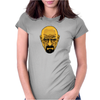 BREAKING BAD - AMC - HEISENBERG - WALTER WHITE - PORTRAIT - YELLOW Womens Fitted T-Shirt