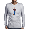 BREAKING BAD - HEISENBERG - WHERE'S WALTER NORMALLY DRESSED - AMC - WHERES WALLY PARODY Mens Long Sleeve T-Shirt