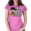 Breaking Bad - I Am The Danger Womens Fitted T-Shirt