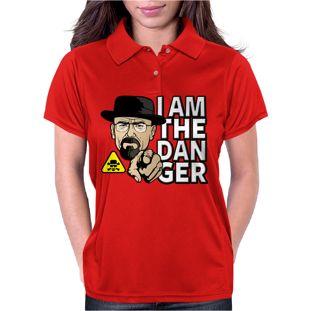 Breaking Bad - I Am The Danger Womens Polo