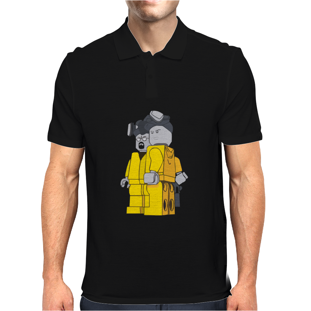 Breaking Bad Lego Parody Mens Polo