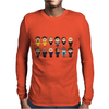 BREAKING BAD - MAIN CHARACTERS CHIBI - AMC BREAKING BAD - MANGA BAD - MANGA Mens Long Sleeve T-Shirt