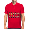 BREAKING BAD - MAIN CHARACTERS CHIBI - AMC BREAKING BAD - MANGA BAD - MANGA Mens Polo