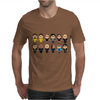 BREAKING BAD - MAIN CHARACTERS CHIBI - AMC BREAKING BAD - MANGA BAD - MANGA Mens T-Shirt