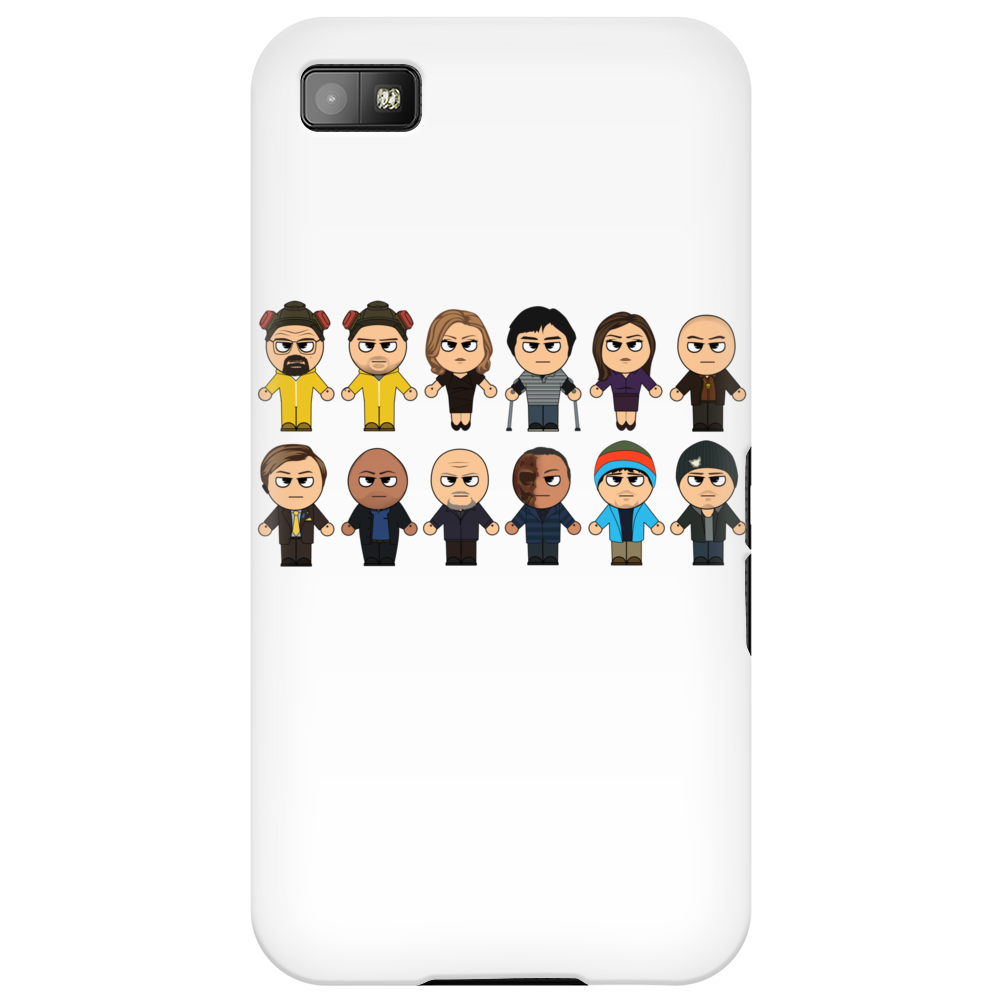 BREAKING BAD - MAIN CHARACTERS CHIBI - AMC BREAKING BAD - MANGA BAD - MANGA Phone Case
