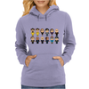 BREAKING BAD - MAIN CHARACTERS CHIBI - AMC BREAKING BAD - MANGA BAD - MANGA Womens Hoodie