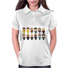 BREAKING BAD - MAIN CHARACTERS CHIBI - AMC BREAKING BAD - MANGA BAD - MANGA Womens Polo