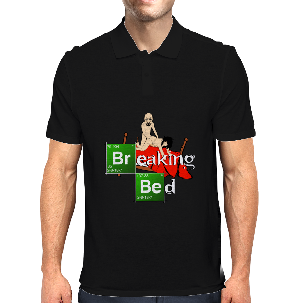 BREAKING BED Mens Polo