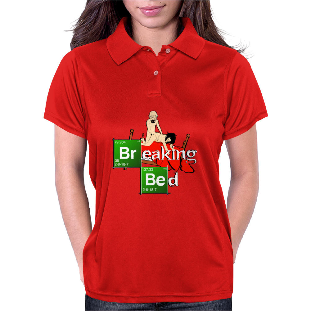BREAKING BED Womens Polo