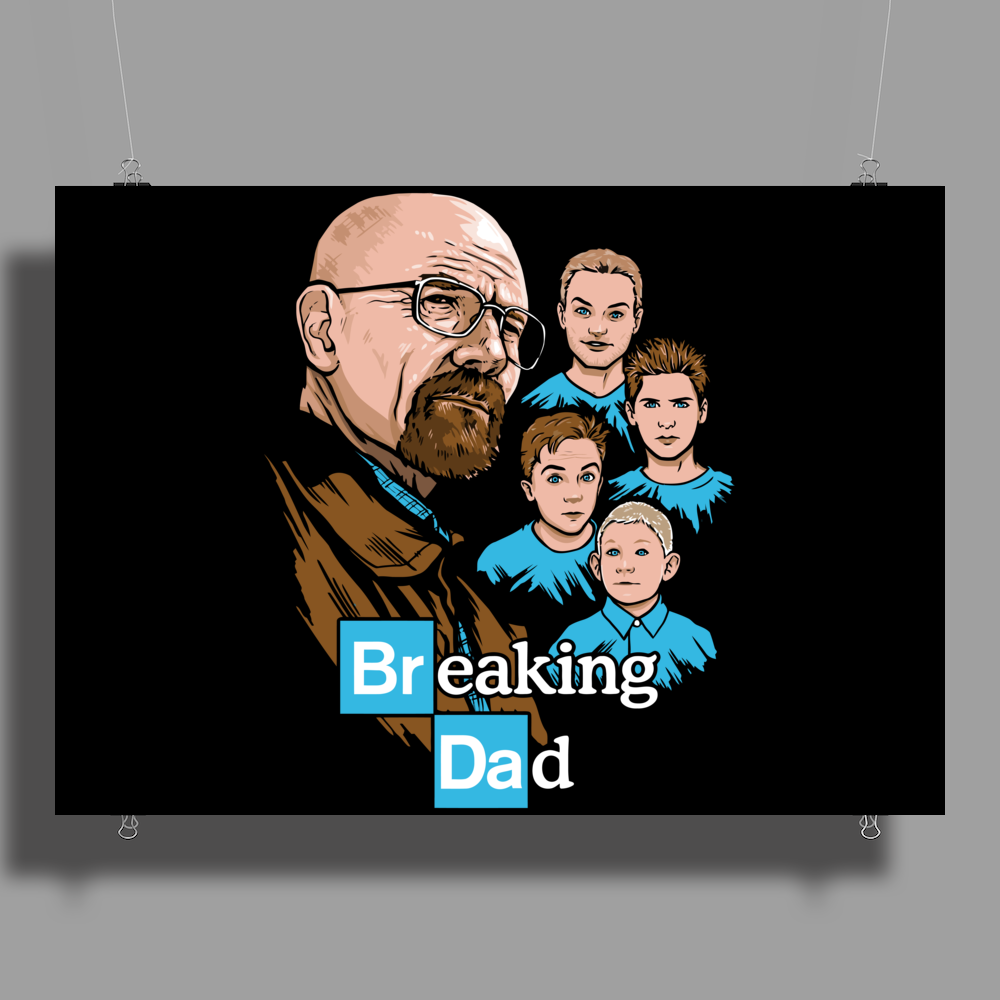 Breaking Dad Poster Print (Landscape)