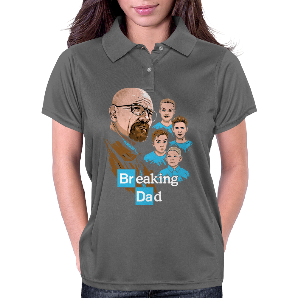Breaking Dad Womens Polo