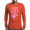 Breast Cancer - Fight Like a Girl Mens Long Sleeve T-Shirt