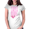 Breast Cancer - Fight Like a Girl Womens Fitted T-Shirt