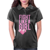 Breast Cancer - Fight Like a Girl Womens Polo