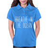 BREATH IN THE OCEAN Womens Polo