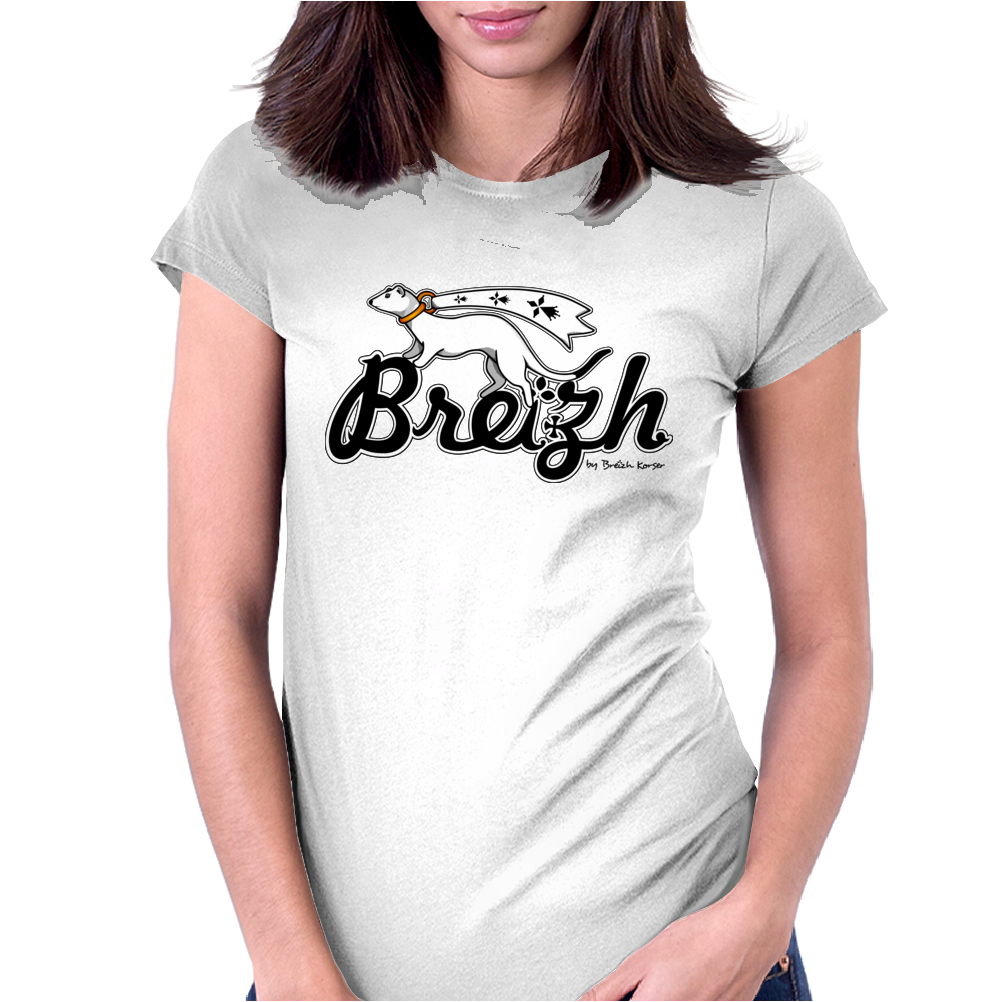Breizh for Brittany Womens Fitted T-Shirt