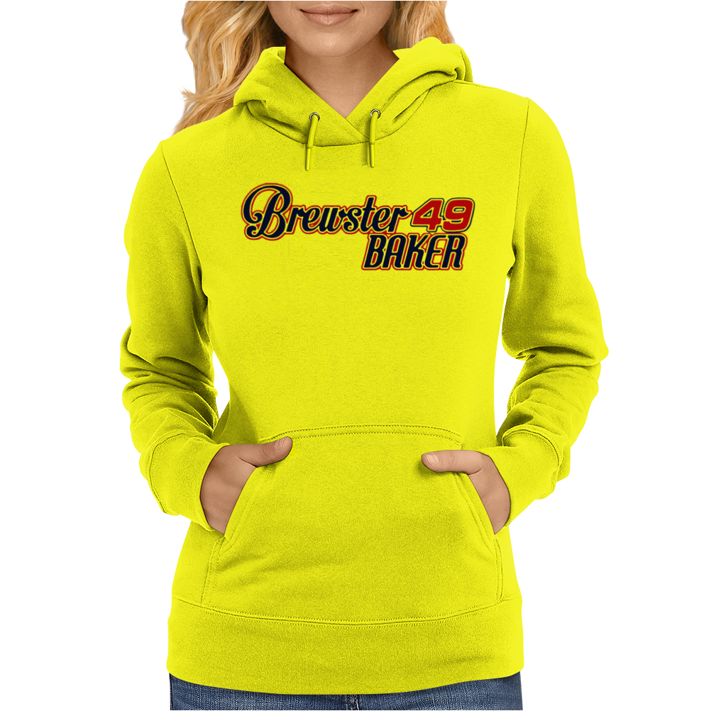 Brewster Baker Six 6 Pack Movie Kenny Rogers Womens Hoodie