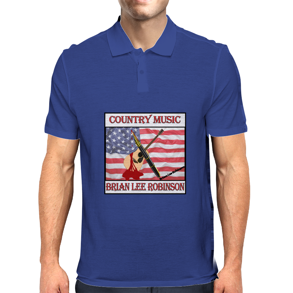 Brian Lee Robinson- Country Music Mens Polo