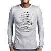 Brian's Ride SilhouetteHistory Mens Long Sleeve T-Shirt