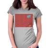 Brick wall Womens Fitted T-Shirt