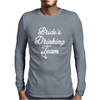 Bride's Drinking Team Diamond Ring Bachelorette Mens Long Sleeve T-Shirt
