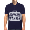 Briefcase Wanker Mens Polo