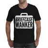Briefcase Wanker Mens T-Shirt