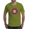 Bright Creative Flower Mens T-Shirt