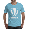 Bring It Come Evil Badger Mens T-Shirt