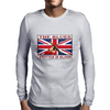 British Blues Written In Blood Mens Long Sleeve T-Shirt