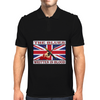 British Blues Written In Blood Mens Polo