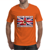 British Blues Written In Blood Mens T-Shirt