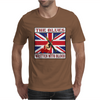 British Blues- Written With Blood Mens T-Shirt