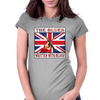 British Blues- Written With Blood Womens Fitted T-Shirt