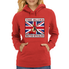 British Blues- Written With Blood Womens Hoodie