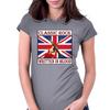 British Classic Rock- Written In Blood Womens Fitted T-Shirt
