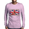 British Classic Rock Written With Blood Mens Long Sleeve T-Shirt