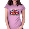 British Classic Rock Written With Blood Womens Fitted T-Shirt