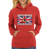 British Classic Rock Written With Blood Womens Hoodie