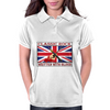 British Classic Rock Written With Blood Womens Polo