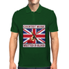 British Country Music- Written In Blood Mens Polo