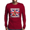 British Country Music - Written With Blood Mens Long Sleeve T-Shirt