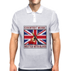 British Country Music - Written With Blood Mens Polo