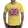 British Country Music - Written With Blood Mens T-Shirt