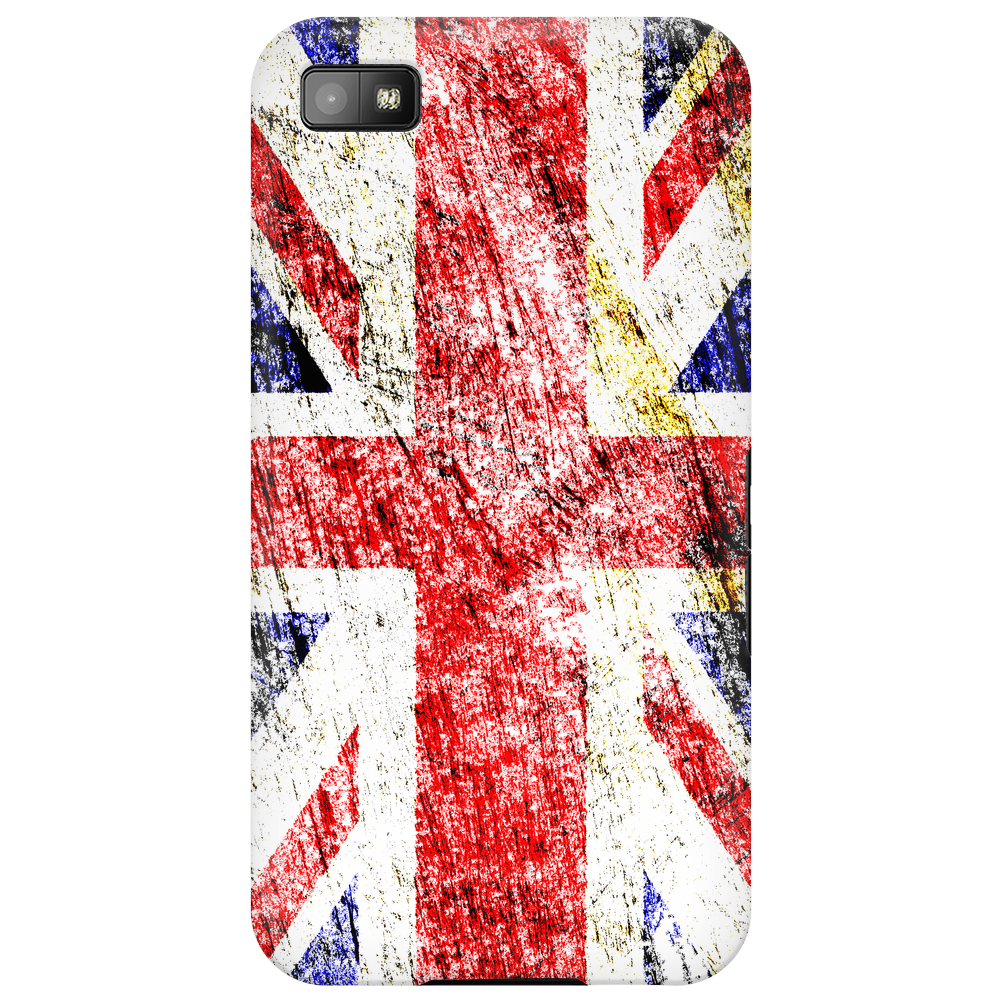 British Flag - Distressed Phone Case