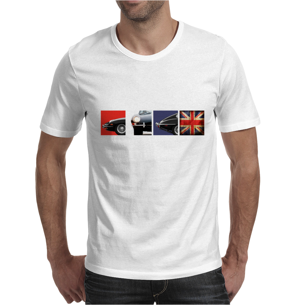 British Icon - The E-Type Mens T-Shirt